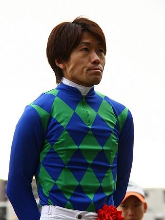 120124佐々木竹見カップ 騎手紹介式 森泰斗騎手