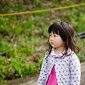 写真: カタクリの里の長女