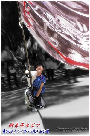 酔来亭セピア_15 - よさこい祭りin光が丘公園2011