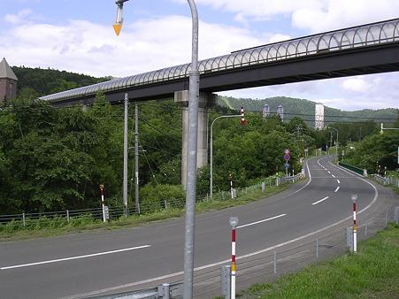 トマム駅連絡橋