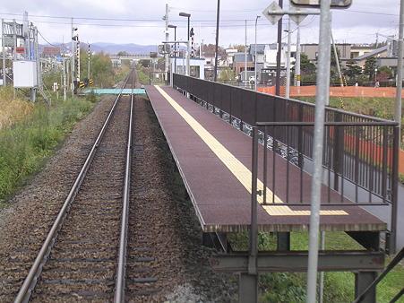 西御料駅ホーム1