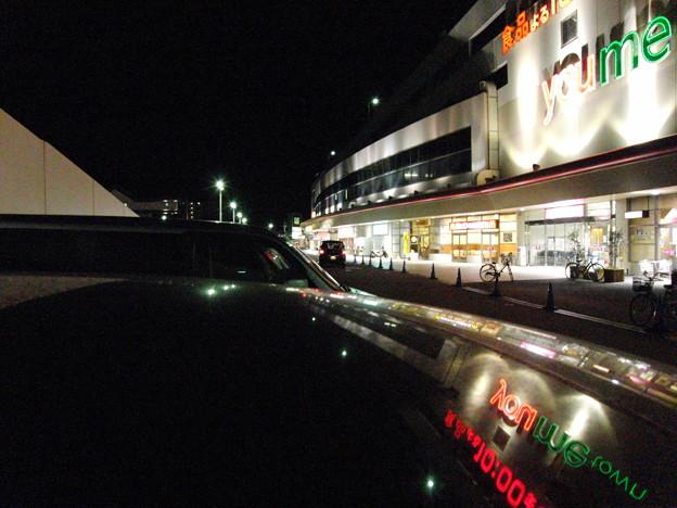CASIO EX-FH20で撮影した夜間の屋外