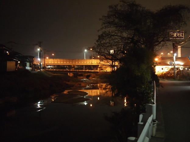 近所の川(20mm/F1.7)