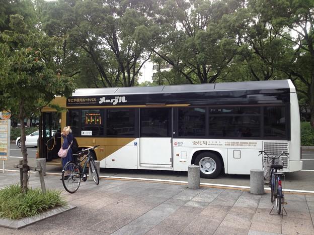 なごや観光ルートバス「メーグル」_12:『名古屋テレビ塔』停留所