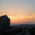 写真: 夕暮れと雲_02