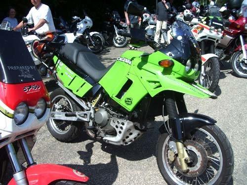 象と怪鳥の融合バイク?