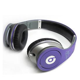 Monster Beats Justin Bieber Headphones Purple 3