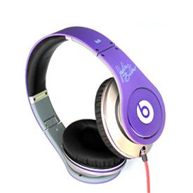 Monster Beats Justin Bieber Headphones Purple 6