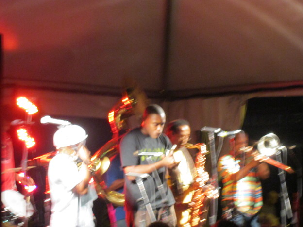 re birth brass band
