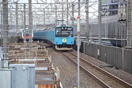 201系@南船橋駅