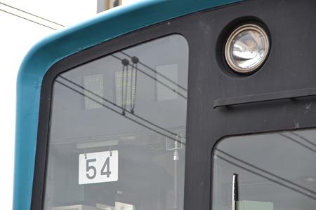 運行番号表示機(201系)@新習志野駅