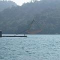 四手釣り網