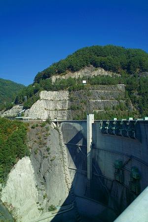 小渋ダムの風景3(SDIM0139)