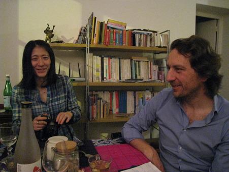 智子さんとアラン