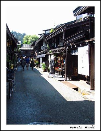 高山の古い町(2)