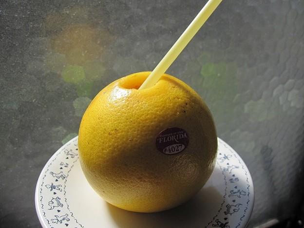 Photos: グレープフルーツ・フレッシュジュース