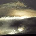 Photos: 行き合いの太陽と雲 1