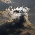 Photos: 行き合いの太陽と雲 2