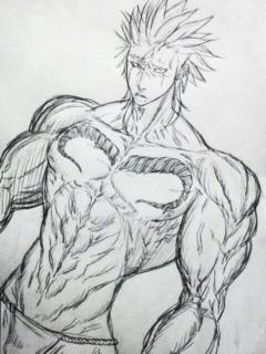 写真: ふんどしといったら筋肉。筋...