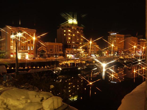 小樽運河の灯り3