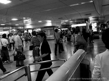 2011年9月18日、JR東京駅