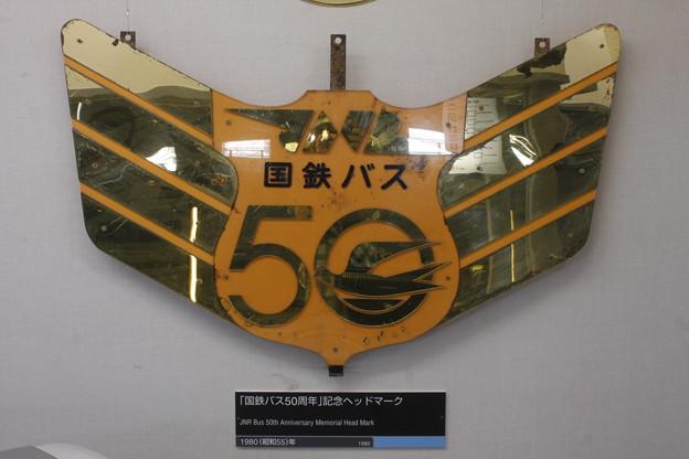 国鉄バス50周年記念ヘッドマーク