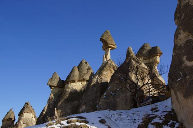 キノコ岩たち @カッパドキア
