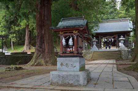 河口浅間神社・波多志神