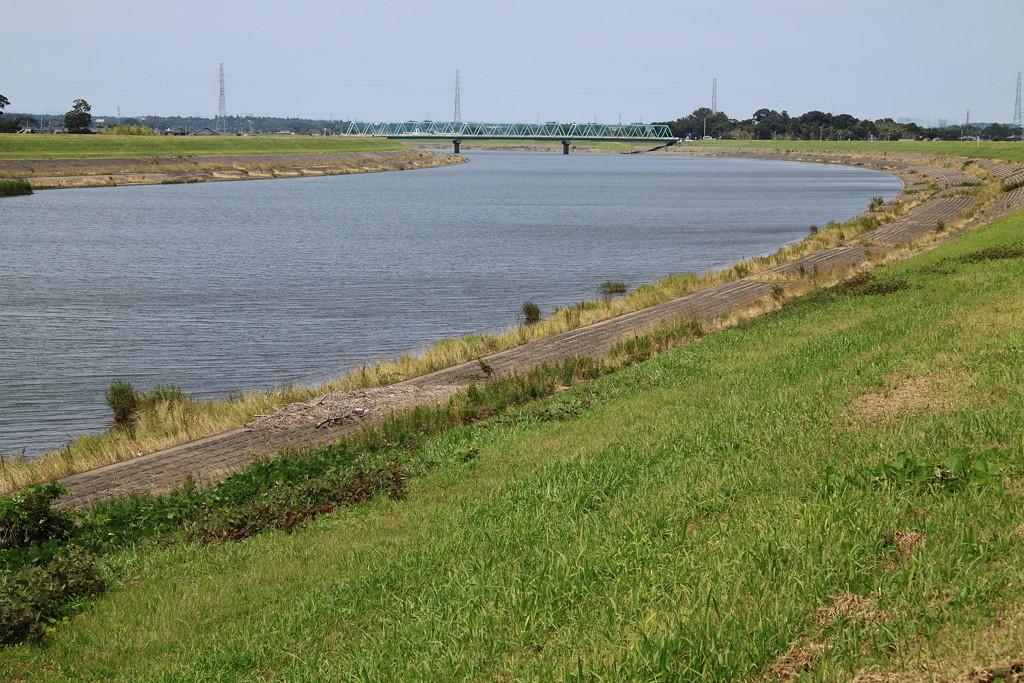 初夏の小貝川