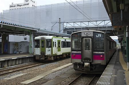 横手駅 奥羽本線と北上線