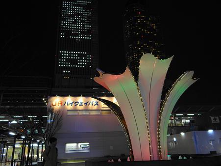 名古屋駅太閤口の夜景
