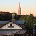 夕刻の原宿駅