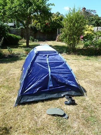 家出用テント