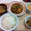 写真: 札幌市下水道庁舎食堂 日替わり