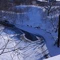 Photos: 冬のエベコロベツ川