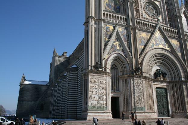 イタリア・オルヴィエート、大聖堂