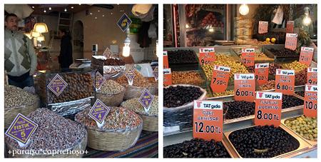 イスタンブールの市場1