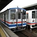 Photos: 関東鉄道常総線 キハ5000形、キハ2100形 水海道駅