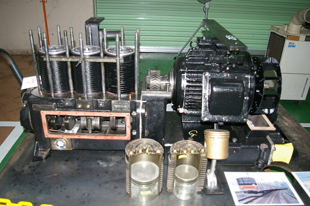 電動空気圧縮機 MH3075A-C2000 205系 東京総合車両センター