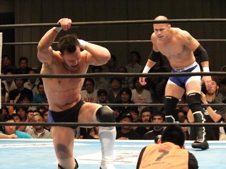 新日本プロレス BEST OF THE SUPER Jr.XIX 準決勝戦 Aブロック2位 プリンス・デヴィット vs Bブロック1位 ロウ・キー (4)