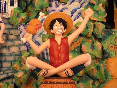 博多祇園山笠 2011 飾り山 博多駅 ワンピース4 ルフィ