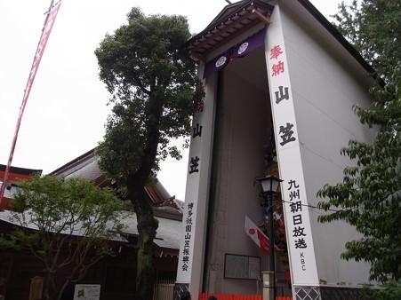 16 博多祇園山笠 飾り山 櫛田神社 2012年 写真画像