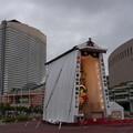 Photos: 30 博多祇園山笠 飾り山 福岡ドームとホテル 2012年 写真画像