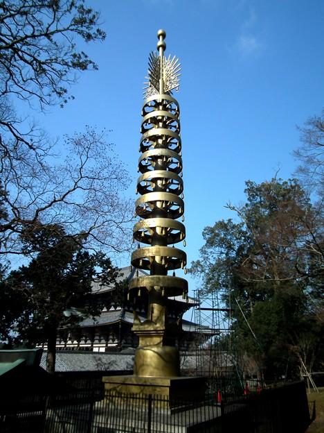 東大寺七重塔相輪20111229
