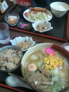 【南三陸町】夕食は歌津中学...