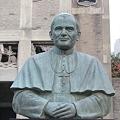 Photos: Bronze Statue of Pope John Paul II