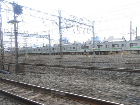 快速エアポート成田の車窓1