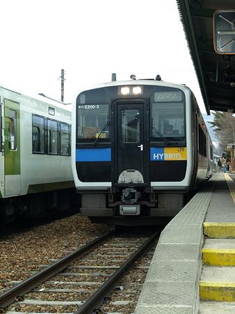 キハ110系とキハE200(野辺山駅)3