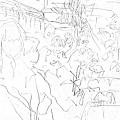 写真: 車内1 #sketch365