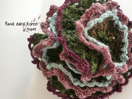 秋の花のシュシュ ビアンカ 1